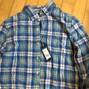 Men's M Slim fit Vineyard Vines Tucker shirt
